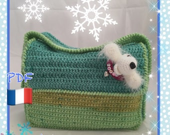 Tutorial crochet small bag Tote from city Yoshe Amigurumis