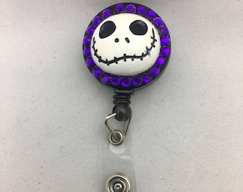 Nightmare Before Christmas Badge Holder, Nightmare Before Christmas Badge Reel