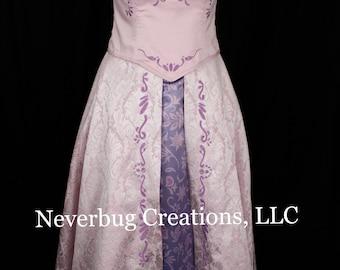 Adult Rapunzel End Scene Custom Costume