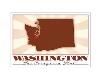 Washington State Poster