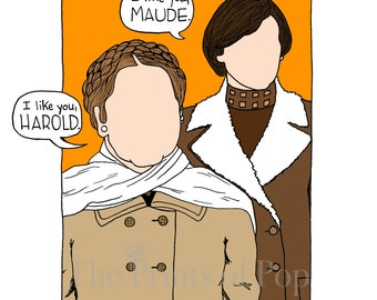 Harold & Maude Print - FREE SHIPPING