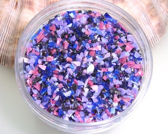 Boysenberry Frit Blend for Lampwork Bead Making 96 CoE Glass Ltd. Edition Purple Violet Amethyst Lavender Lilac Rose - Available in 2 sizes