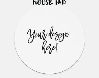 Mouse Pad -Circle or rectangle - chose the design from my prints collection or have me make one for you, customize your own unique gift