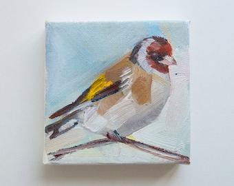 Goldfinch Original Oil Painting