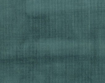 JB Martin Atlantic Blue Velvet Home Decorating Fabric, Fabric By The Yard