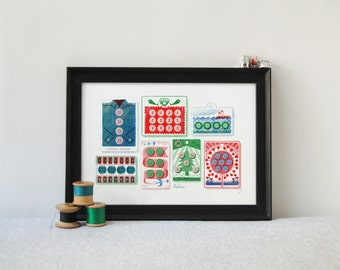 Dang My Buttons - RISO print