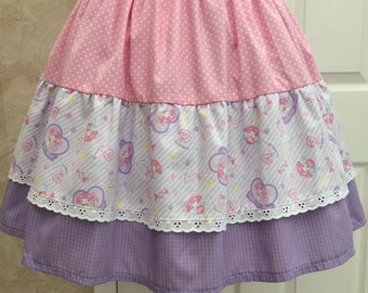 Sweet Candy Tiered Skirt
