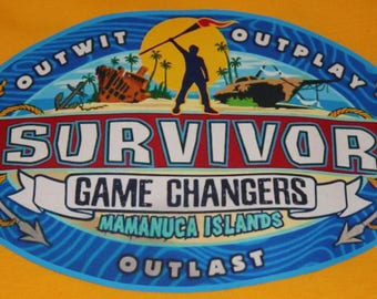 Mens/Womans/Youth Survivor Game Changers Logo Shirt