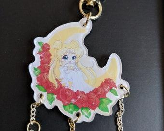 Sailor Moon/Princess Serenity Acrylic Charm
