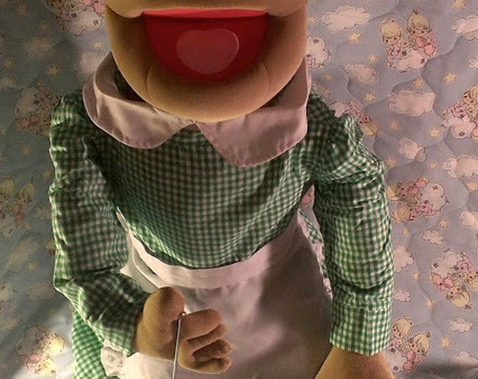 """SALE Grandma Puppet - Large 30"""" Full or Half Body Arm Rod Puppet for Professional Puppetry by Puppets for JESUS  Granny"""