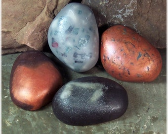 Soap Rocks, Zen Rocks Spa Soaps Set of Four