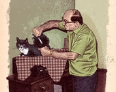 Uncle Vince Grooming a Ca...