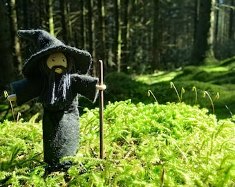Druid or Wizard Bendy Doll