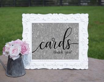 County Wedding Cards Sign   PRINTED Wedding sign, Cards table Decorations, Galvanized Wedding Signage, Barn Wedding signs, Wedding print