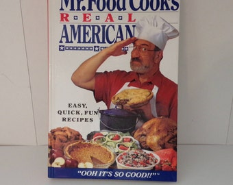 Mr food recipe book etsy mr food cooks real american easy fun recipes ooh its so good forumfinder Gallery