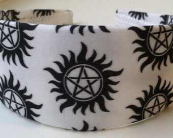 Anti Possession Sigil Headband, Supernatural Geekery