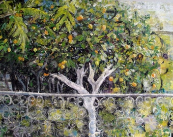 Original Oil painting 'Lemon Tree' 60 x 90