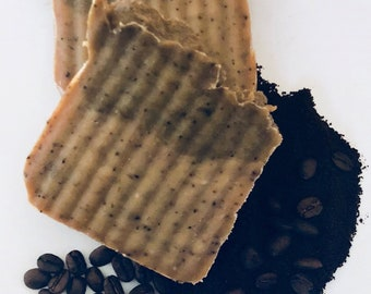 Mint Coffee Goat Milk Soap, Handcrafted Soap, All Natural Soap, Handmade Soap, Homemade Soap