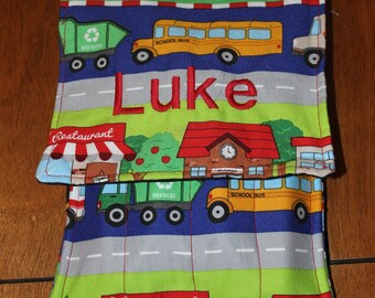 Car Activity Tote Pattern