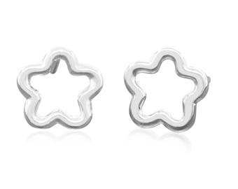 Sterling Silver Star Earrings - Tiny Stud Earrings - Stud Earrings - Minimal Earrings - Delicate Earrings - Gift for Her