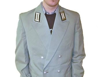 Vintage East German Dress Uniform Jacket - New, Never Issued - Men's Medium