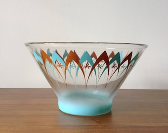 Federal Glass Mid-Century Serving Bowl - 1950s