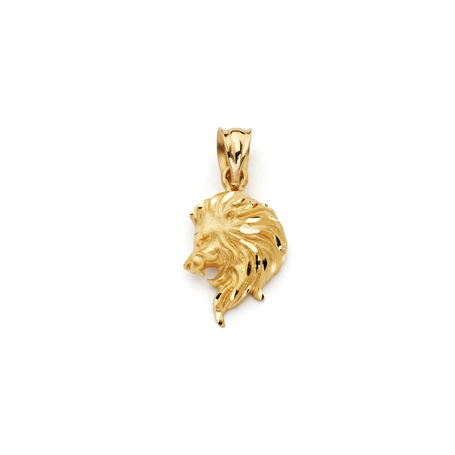necklace lyst metallic in image valentino pendant best lion