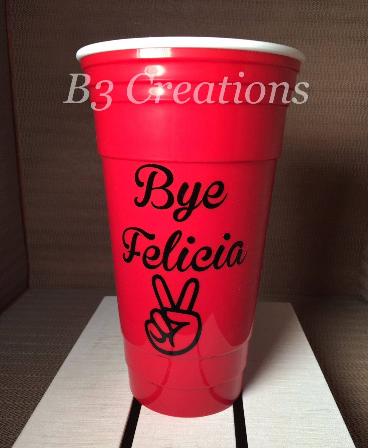 Party cup 32oz solo cup reusable party cup double wall zoom arubaitofo Image collections