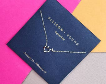 Zodiac Collection Aquarius Necklace