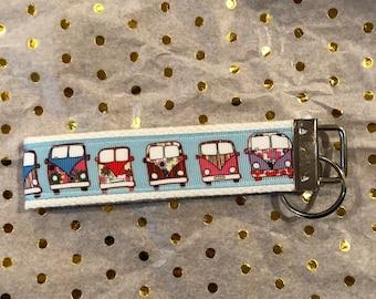 Volkswagen bus inspired key fob