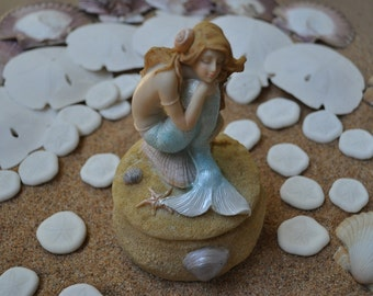 Mermaid Trinket Box