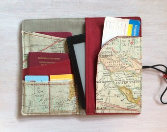 Passport case, passport holder, travel organizer, passport case
