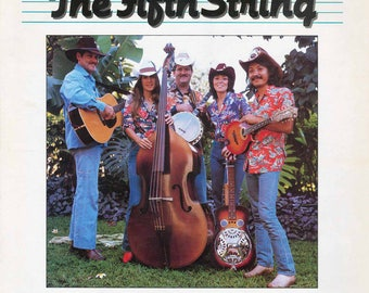 The Fifth String - Hawaiian Grown Bluegrass Vintage Vinyl Record 1981