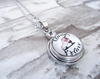 FIGURE SKATING NECKLACE Always Believe Ice Skate Charm Snap Button Pendant Figure Skating Necklace Gifts for Skaters