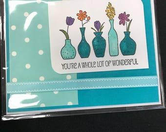 Wonderful Thinking of You Card