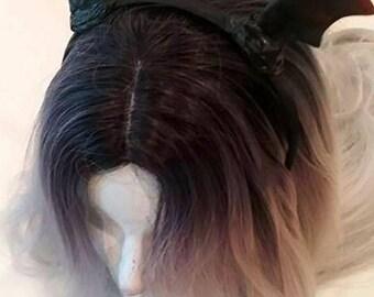 Creepy Cute Bat Wing Headband
