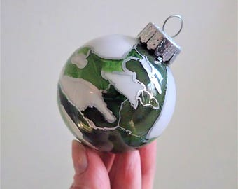 Glass Ornament - Hand Painted