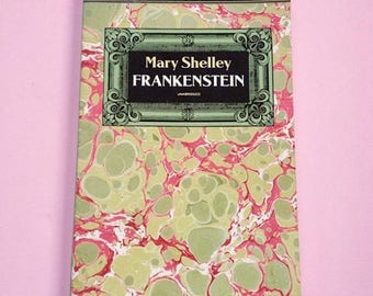 Frankenstein by Mary Shelley - Classic Horror Novel Literature Paperback