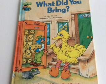 Vintage Children's Book, What Did You Bring?