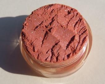 Pale Orange Mineral Eyeshadow | Cruelty-Free | Pink Shimmer | Vegan Mineral Eye Shadow - Delightful
