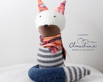 Plush baby Fox