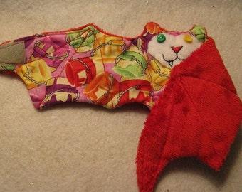 Paint Craft Bat - Stuffed Animal, Cup Sleeve, Coffee Cozy
