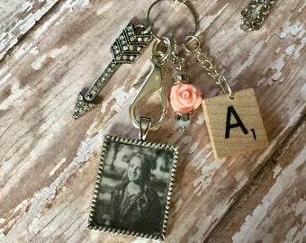 Photo Charm Necklace/Customized Photo Necklace/Mothers Day Gift/Keepsake Gift