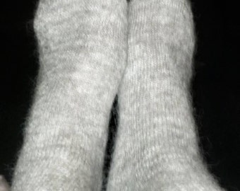 Alpaca Crew Socks, Home-Grown in Ohio in Unisex Size 9-11 and/or Size 10-13-Buy 5 pairs, get 6th pair free