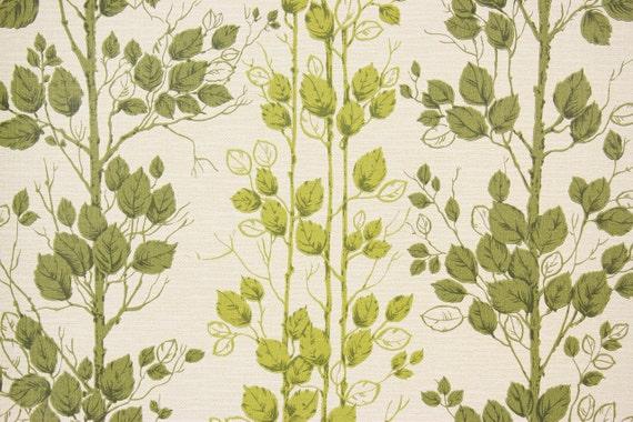 1970s Retro Vintage Wa...1970s Wallpaper Green Leaves