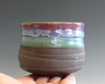 Matcha Chawan, 10 oz, Tea Bowl, handmade ceramic tea cup, handmade pottery, Pottery Tea Bowl