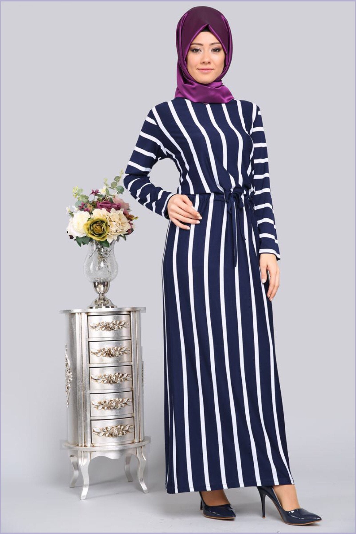 Dress Muslim Clothing Long Sleeve Dress Women Dresses Muslim Dress