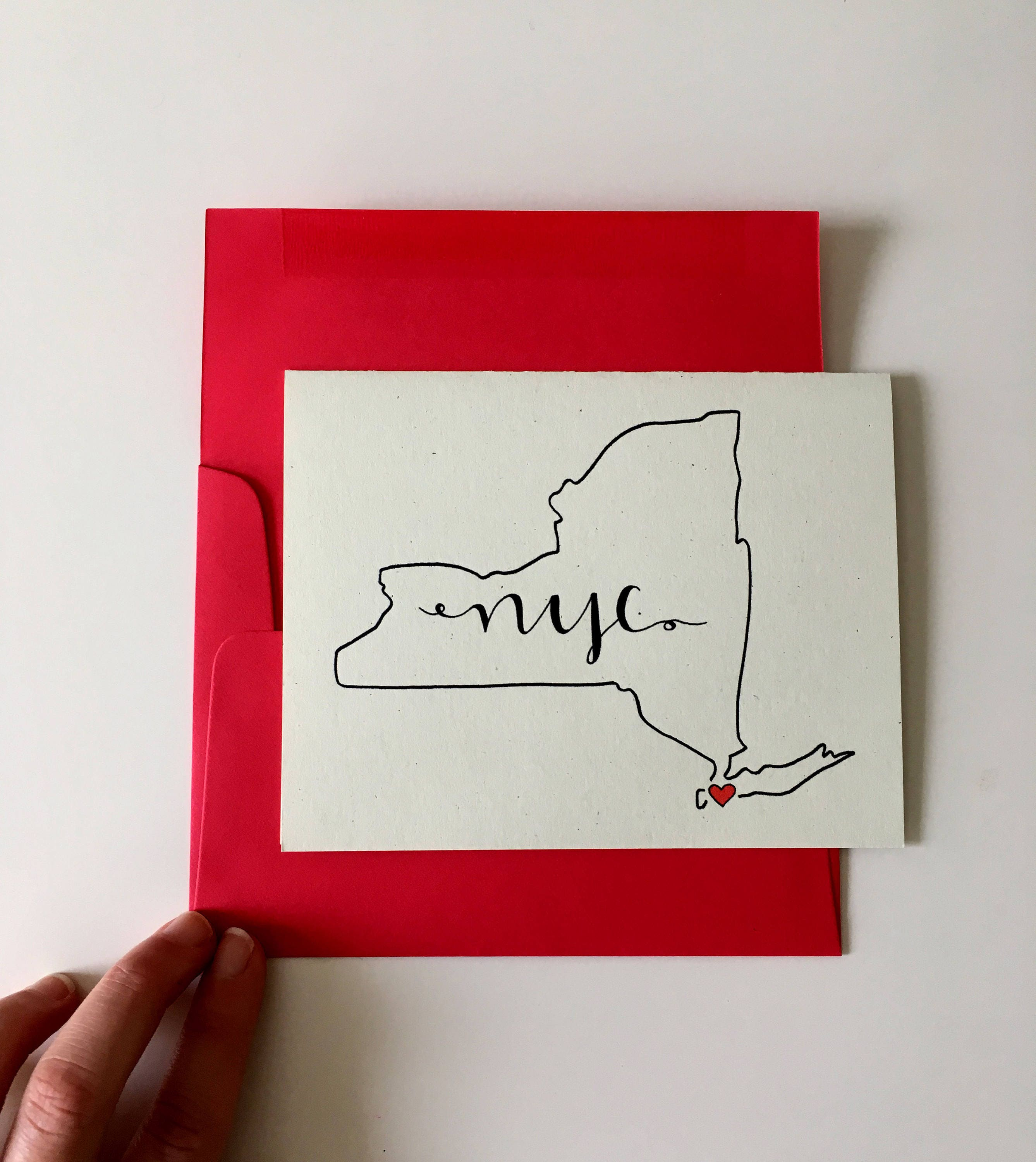 New york city cards nyc map gifts new york stationery zoom m4hsunfo