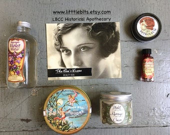 1922 Historical Cosmetic Beauty Boxed Set