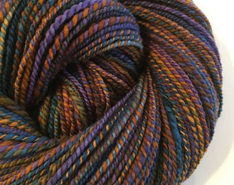 Be Jeweled, Handspun, 2ply, Merino, 256yds